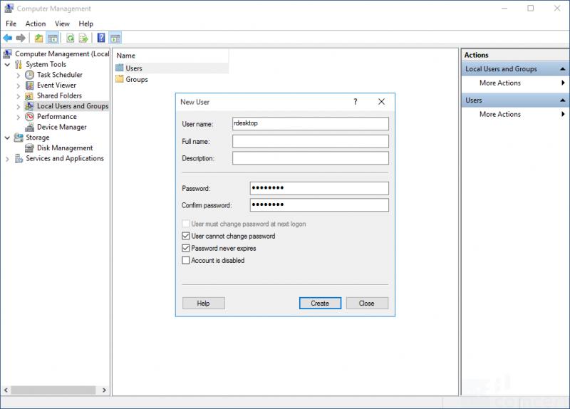 Enable Remote Desktop on OptiView XG Tablet PC - COMCERT Wiki